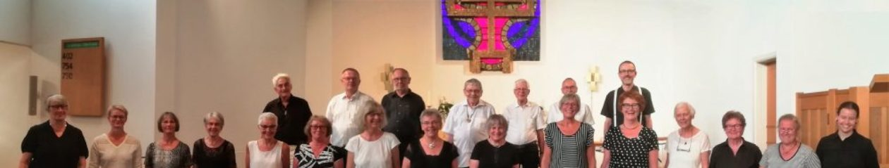 Kammerkoret Audite synger klassisk korsang og øver i Hendriksholm kirke i Rødovre,  København